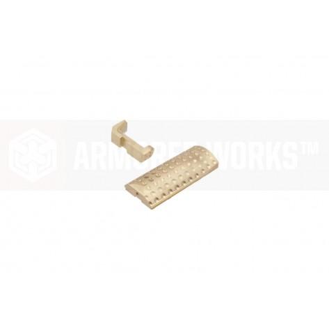 EMG / Salient Arms International ™ BLU Compact Backstrap & Magazine Catch Kit (Bronze)