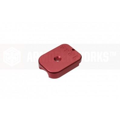AW Custom™ MagID HX CNC Aluminium Baseplate [Red]