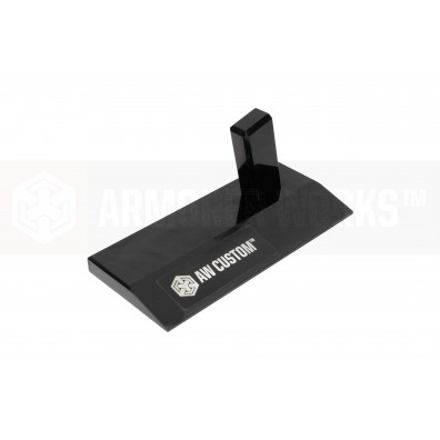 AW Custom Toughened SGA Acrylic Pistol Display Stand (Jet Black)
