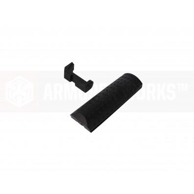 EMG / Salient Arms International ™ BLU Standard Backstrap & Magazine Catch Kit (Iron Gray)