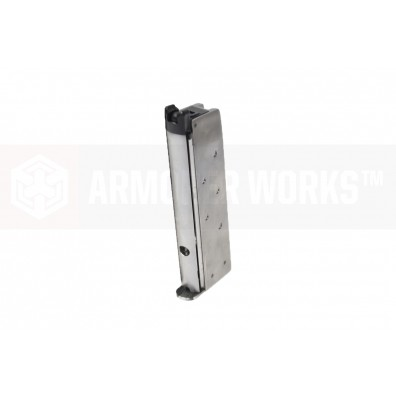 NEMG08 1911 Single Stack Gas Magazine For NE21 Series Silver