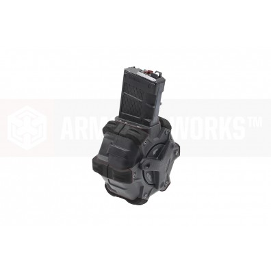 Adaptive Drum Magazine - AR Series (Black)
