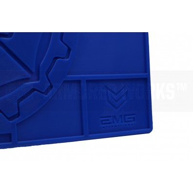 EMG / Umbrella Armory Tech Mat Pro Rubber Work Mat - Training Blue