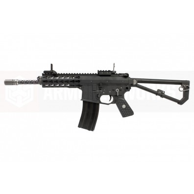 EMG / Knights Armament Airsoft PDW M2 Standard Gas Blowback Rifle (Black)