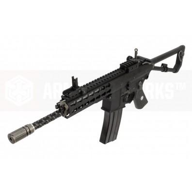 EMG / Knights Armament Airsoft PDW M2 Standard Gas Blowback Rifle (Black)