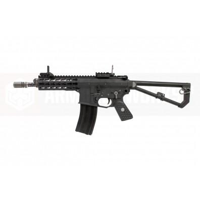 EMG / Knights Armament Airsoft PDW M2 Compact Gas Blowback Rifle (Black)