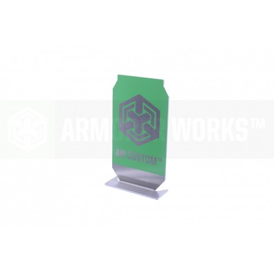 AW Custom™ Practical Shooting Popper Target Plate (Green)