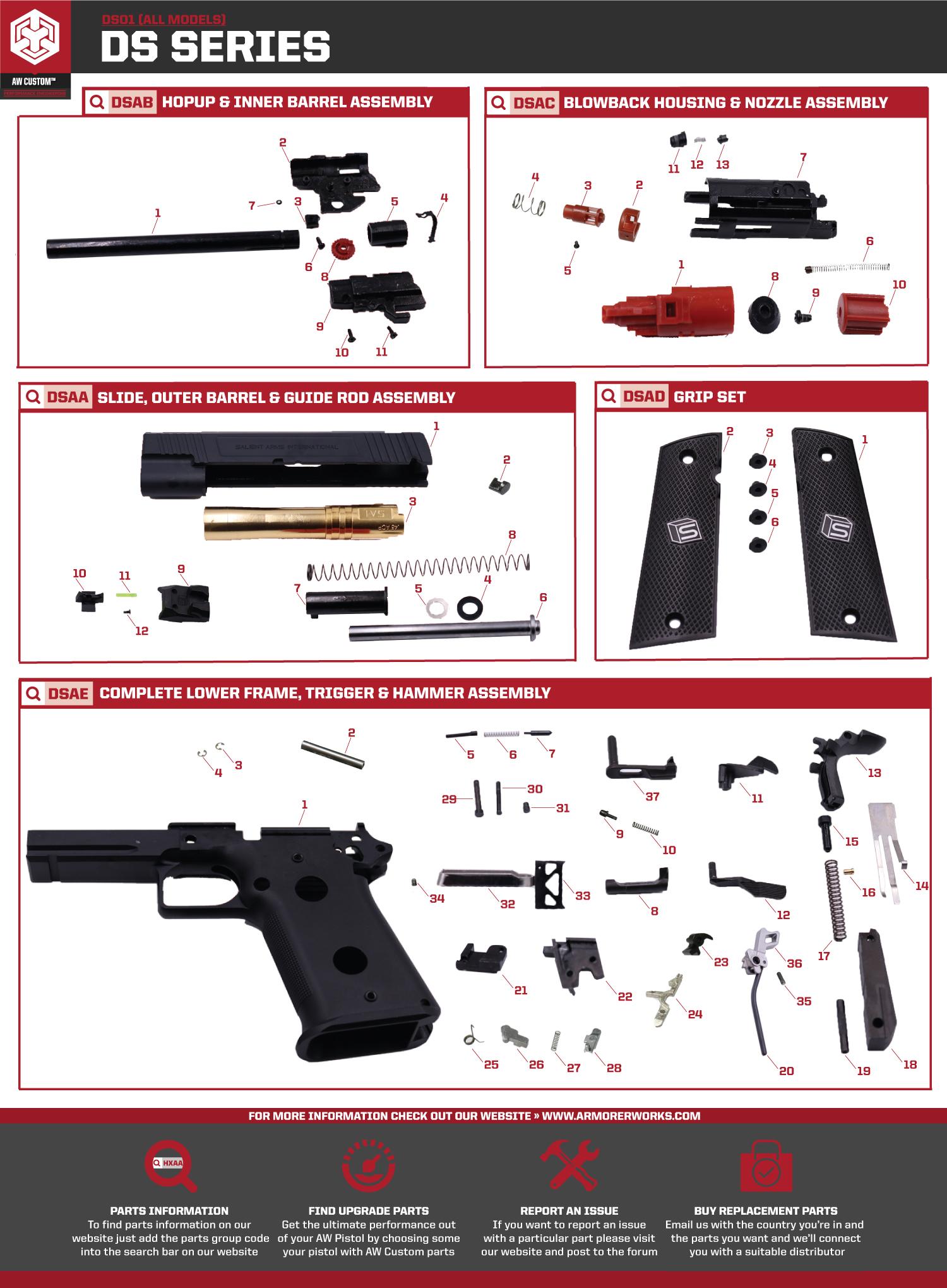 Ds01 Parts Diagram