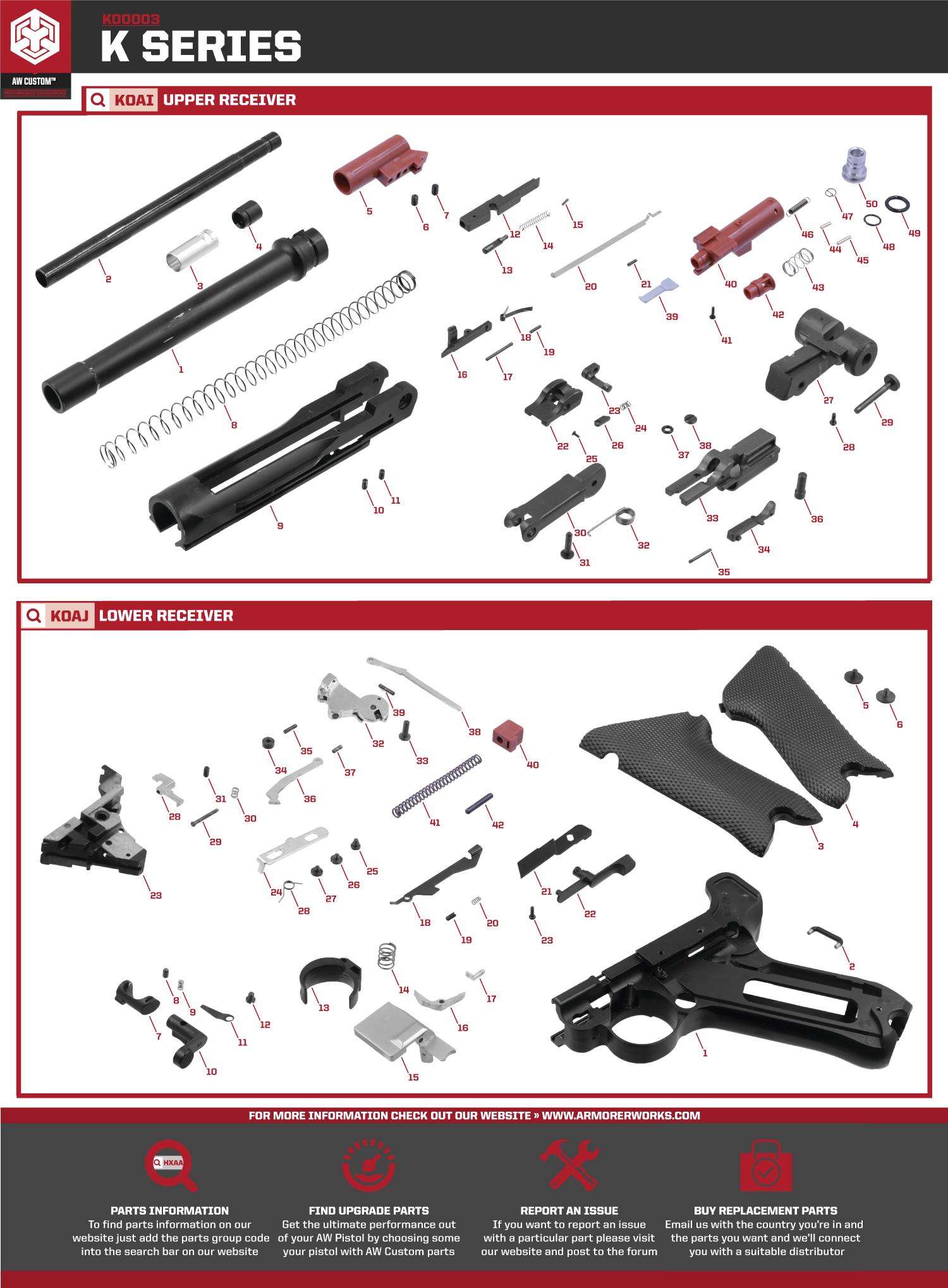 K00002  U0026 K00003 Parts Diagram